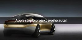 Apple stoplo projekt svojho auta!