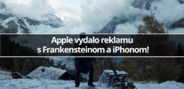 Apple vydalo reklamu s Frankensteinom a iPhonom!