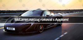 McLaren naozaj rokoval s Applom!