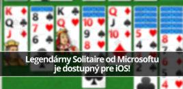 Legendárny Solitaire od Microsoftu je dostupný pre iOS!