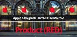 Apple a boj proti HIV/AIDS tento rok!