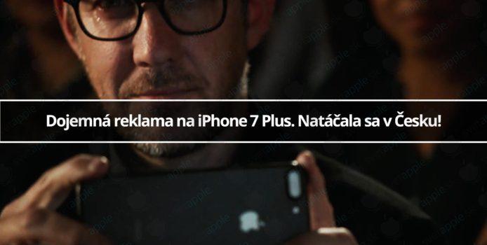 Dojemná reklama na iPhone 7 Plus. Natáčala sa v Česku!