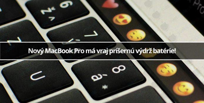 Nový MacBook Pro má vraj príšernú výdrž batérie!