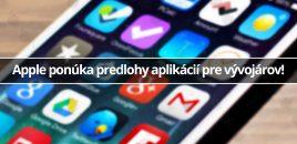 Apple ponúka predlohy aplikácií pre vývojárov!