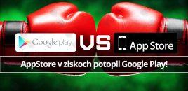 AppStore v ziskoch potopil Google Play