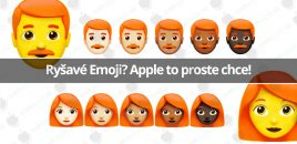 Ryšavé Emoji? Apple to proste chce!