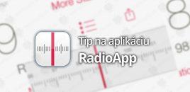 Tip na aplikáciu: RadioApp