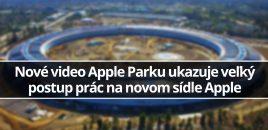 Nové video Apple Parku ukazuje veľký postup prác na novom sídle Apple