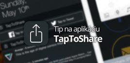 Tip na aplikáciu: TapToShare