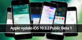Apple vydalo iOS 10.3.2 Public Beta 1
