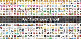 iOS 11 a 69 nových Emoji!