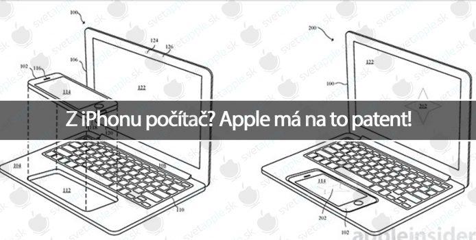 Z iPhonu počítač? Apple má na to patent!