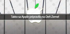 Takto sa Apple pripravilo na Deň Zeme!