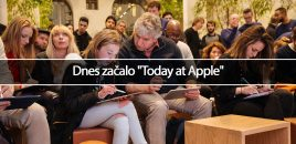 "Dnes začalo ""Today at Apple"""