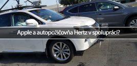 Apple a autopožičovňa Hertz v spolupráci?