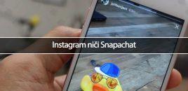 Instagram niči Snapachat
