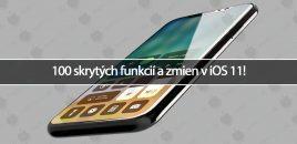 100 skrytých funkcií a zmien v iOS 11!