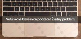 Nefunkčná klávesnica počítača? Žiadny problém!