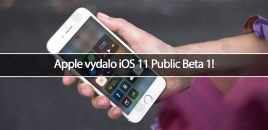 Apple vydalo iOS 11 Public Beta 1!