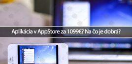 Aplikácia v AppStore za 1099€? Na čo je dobrá?