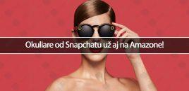 Okuliare od Snapchatu už aj na Amazone!