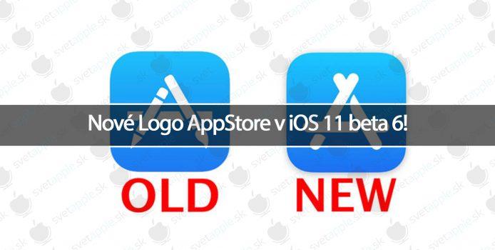Nové Logo AppStore v iOS 11 beta 6!