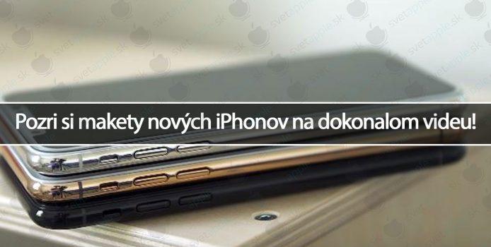 Pozri si makety nových iPhonov na dokonalom videu!