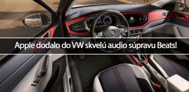Apple dodalo do VW skvelú audio súpravu Beats!