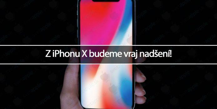 Z iPhonu X budeme vraj nadšení!