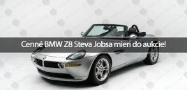 Cenné BMW Z8 Steva Jobsa mieri do aukcie!