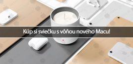 Kúp si sviečku s vôňou nového Macu!