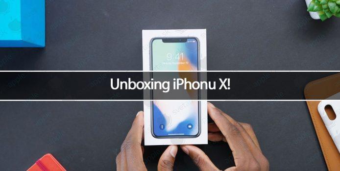 Unboxing iPhonu X!