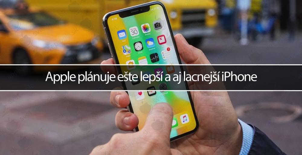 Apple plánuje ešte lepší a aj lacnejší iPhone - Svetapple.sk c7437681abb