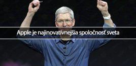 Apple je najinovatívnejšia spoločnosť sveta