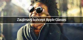 Zaujímavý koncept Apple Glasses