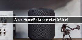 Apple HomePod a recenzia v češtine!