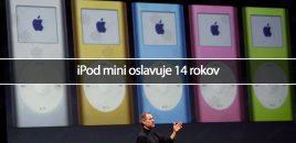 iPod mini oslavuje 14 rokov