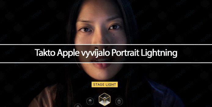 Takto Apple vyvíjalo Portrait Lightning