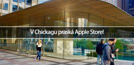 V Chickagu praská Apple Store!