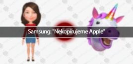 "Samsung: ""Nekopírujeme Apple"""