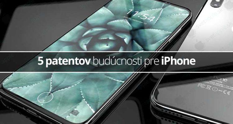 5 patentov budúcnosti pre iPhone - svetapple.sk