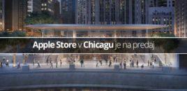Apple Store v Chicagu je na predaj