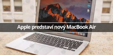Apple predstaví nový MacBook Air