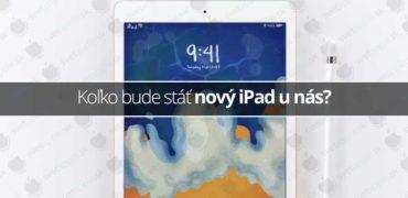 Koľko bude stáť nový iPad u nás?