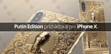 Putin Edition prichádza aj pre iPhone X