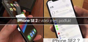 iPhone SE 2 z videa je len podfuk! - svetapple.sk