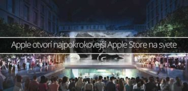 Apple otvorí najpokrokovejší Apple Store na svete