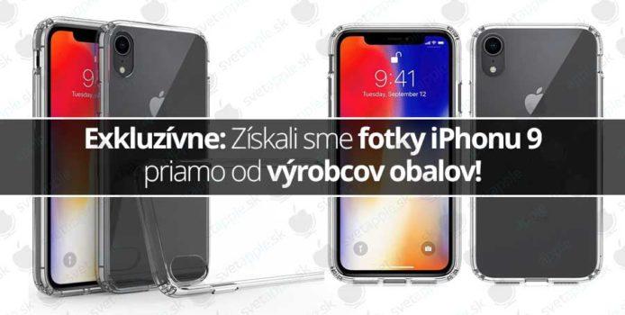 Exkluzívne: Získali sme fotky iPhonu 9 priamo od výrobcov obalov!