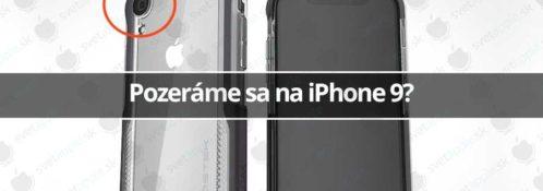 Pozeráme sa na iPhone 9?