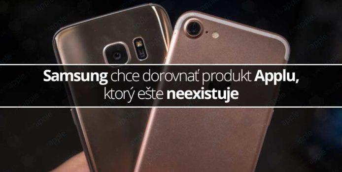 Samsung chce dorovnať produkt Applu, ktorý ešte neexistuje